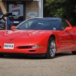 Red Corvette C5 Front
