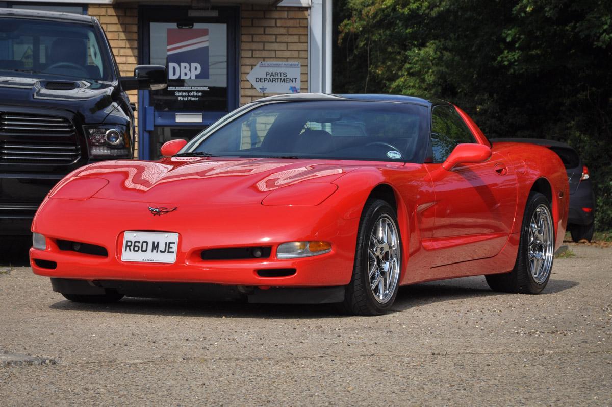 1998 R Chevrolet Corvette C5 50 000 Miles David