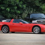 Red Corvette C5