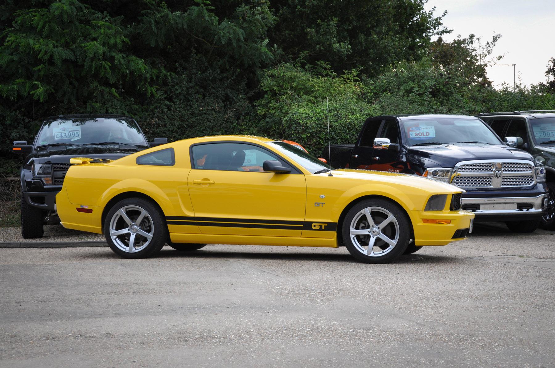2005 (05) Ford Mustang V8 GT Premium Automatic – 32,000 miles – David Boatwright Partnership ...