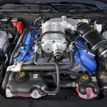 Mustang GT500 5.8 Litre Supercharged SVT Engine