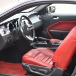 Mustang GT interior Brick Red