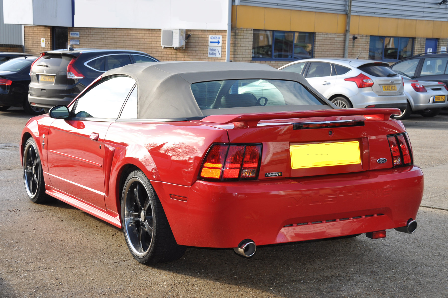 2003 03 Ford Mustang Convertible Automatic David