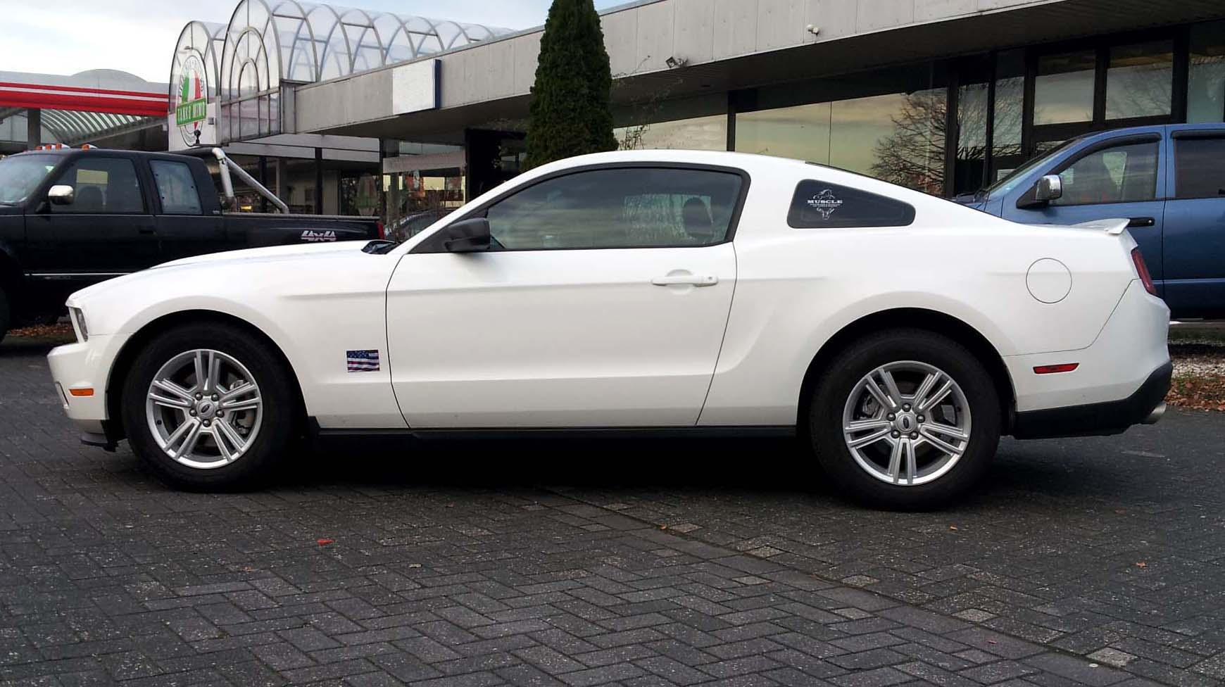 2011 60 Ford Mustang 305 Bhp 3 7 Litre V6 Automatic